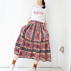 Paisely skirt