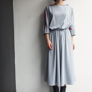 Made in Western Germany slit of sleeve dress