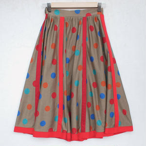 Multi-color dot skirt