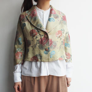 SILK short jacket