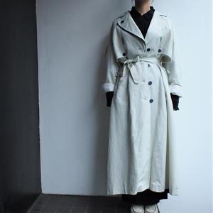 Marine style off-write Trench coat