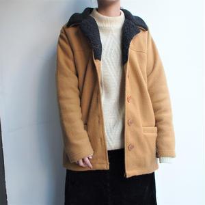 Yellow tailored fleece
