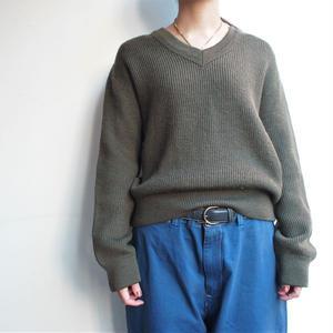 1981's  shout length  Army  khaki  knit