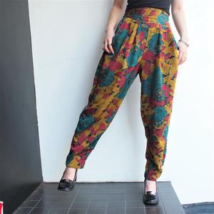 Colorful Print Pants
