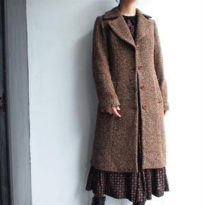 1970's Tweed Wool coat