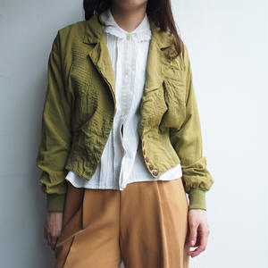 Made in Italy khaki Jacket
