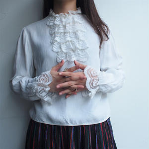 Europe Front Fril Blouse late1950's