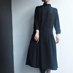 1940's-50's Europe SILK Dress