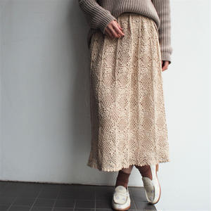 Lace flea skirt