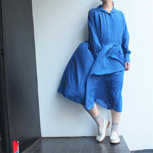 Blue one-piece dress
