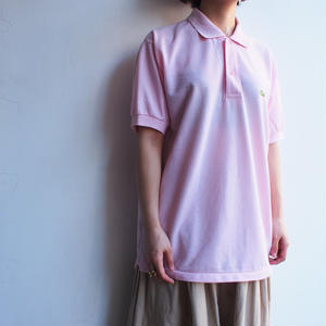 Made in France LACOSTE Polo Shirt pink