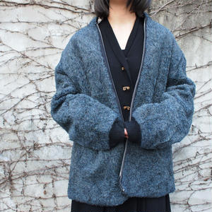 1960's,1970's TALON ZIP  wool boa blouson【reversible】