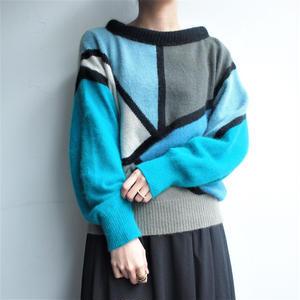 Angola  Geometric pattern knit