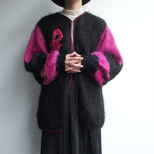 Knit (裏地付)Cardigan