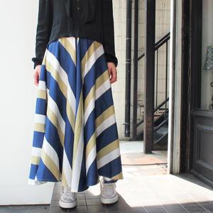 Big flare long skirt