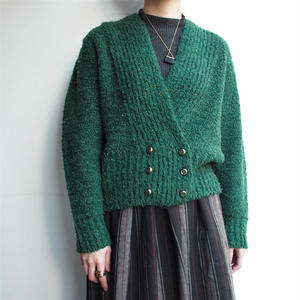 Fabric in France Green cardigan