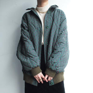 Green Down coat jacket
