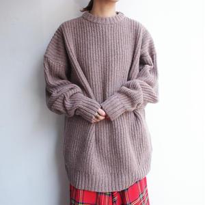 Wool &Silk knit