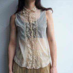 France ~1920's  antique  blouse