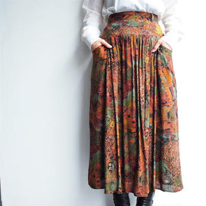 Made in Finland printed skirt