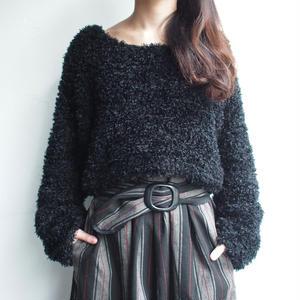 Black short knit