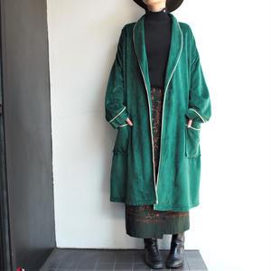 Green gown coat