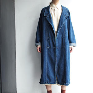 Made in USA Double breasted Denim coat