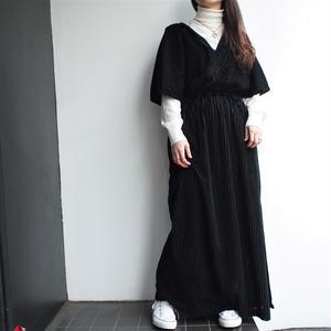 Black dolman -sleeve one-piece