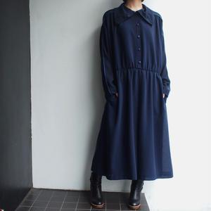 Made in W.Germany dark navy dress