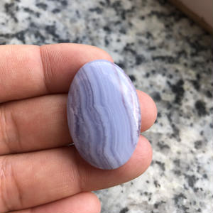 ブルーレースアゲート(No.5)/天然石ルース(裸石)