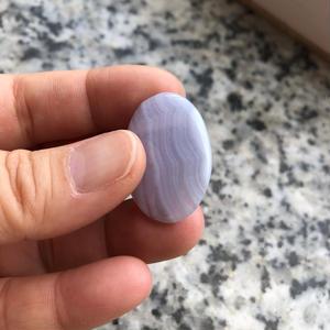 ブルーレースアゲート(No.6)/天然石ルース(裸石)
