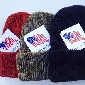 MADE IN USA🇺🇸 ACRYLIC KNIT CAP