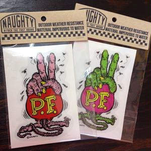 STICKER【PEACE FINK】