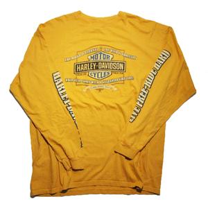 HARLEY-DAVIDSON vintage long sleeve shirt