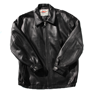 AVIREX leather jacket