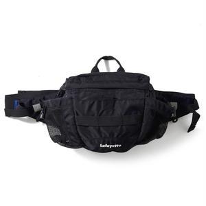 Lafayette ラファイエット SMALL LOGO SPORT HIP BAG ショルダーバック  BLACK ブラック