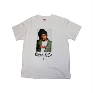 Supreme NAS Tee T-shirt White Fw17 M size