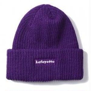 Lafayette LOGO WATCH CAP ( PURPLE)