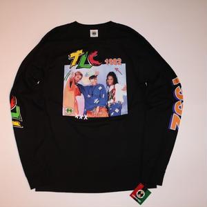 "CROSS COLOURS ""TLC 1992"" L/S T-shirt Black"