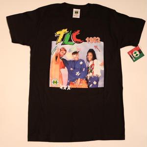"CROSS COLOURS ""TLC"" S/S T-shirts Black"