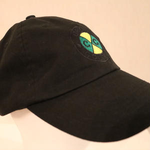 CROSS COLOURS CLASSIC EMBROIDERED DAD HAT BLACK