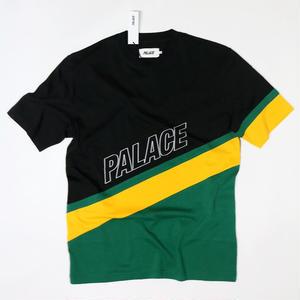 PALACE SKATEBOARDS R STRIPE T BLACK M