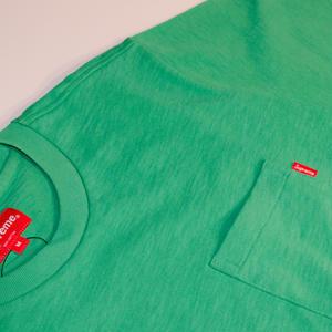 Supreme ポケ付きTシャツ(グリーン)
