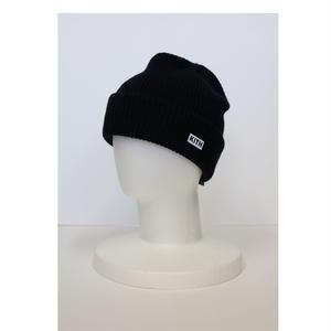 KITH Box Logo Knit Beanie Black