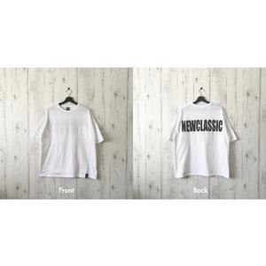 Back Print Wide T-shirt (3 color)