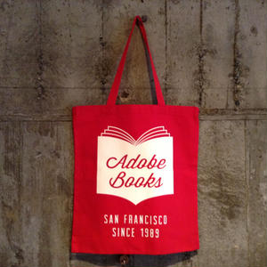 "LITTLE CALIFORNIA | TOTE BAG ""ADOBE BOOKS"""