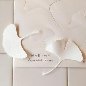 Yasuhiro Suzuki | 紙の葉  イチョウ