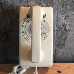 Shingo Wakagi | アメリカ製黒電話(壁掛け式アイボリー)