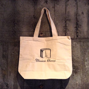 "LITTLE CALIFORNIA | TOTE BAG ""MISSION CHEESE"""