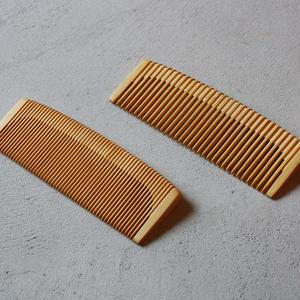 松田優デザイン事務所の店 |【オーダー】つげ櫛「素」